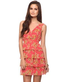 cute summer dress in need of a casual but soft flower to compliment her hair and the overall outfit
