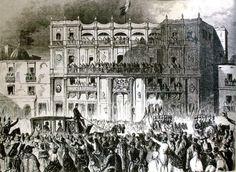Junio 12 de 1864    Maximiliano y Carlota llegan a la capital.   #Memoria #Politica de #Mexico   http://memoriapoliticademexico.org/Efemerides/6/12061864.html