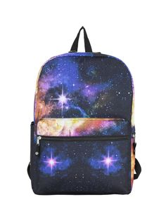 A supernova backpack that your high school physics teacher would have approved of.   25 Space-Themed Products That'll Add Light Years To Your Life