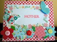 Spring Blooms Handmade Mother's Day Card | AllFreePaperCrafts.com