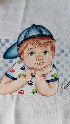 Bebê de boné