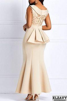Elegant Prom Bodycon Mermaid Maxi Long Dress