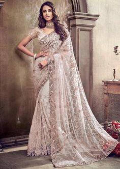 Saris, Fancy Sarees, Party Wear Sarees, Indian Dresses, Indian Outfits, Wedding Sari, Wedding Dresses, Wedding White, Maroon Wedding