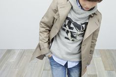 love the layering and graphic tee