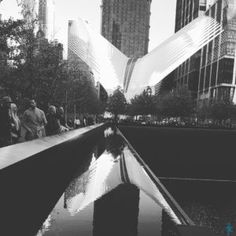 The Oculus from the 9/11 Memorial. @theaspiringarch