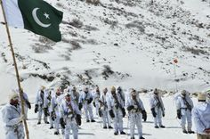 The brave sons of soil guarding the territorial integrity of this land of pure at world's highest and coldest war zone. These men never fear the stinging cold difficult most terrain , extreme weather inclemencies besides guarding the frontiers. Fear is not a factor when it comes to guarding the motherland. Their duty is above and prior to their life.  Siachen Soldiers of Pakistan Army. We Salute You. Pak Army