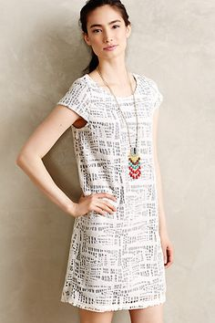 Cecil Lace Shift #anthropologie