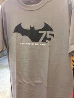 Celebrate 75 years of  everyone's favorite bat with this rather splendid shirt