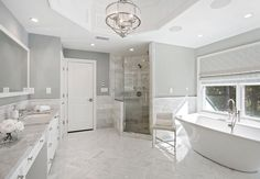 Transitional Interiors, LLC Luxury, modern and contemporary bathroom. Best top famous luxurious exclusive high-end Interior Designers | For more decor inspirations and decor ideas visit www.bessadesign.com . . . #exclusivedesign #homedecor #luxurydecor #homedesign #luxuryinteriors #luxuryhomes #contemporarydesign #contemporaryfurniture #interiorstyling #interiorproject #bessadesign #decorationideas #interiordecorating #designhome #decorlovers #interiorinspo #interiorstyling…
