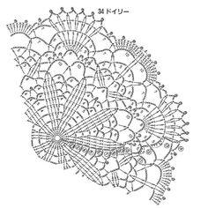 Stunning Lace Crochet Circle Pattern. More Patterns Like This!