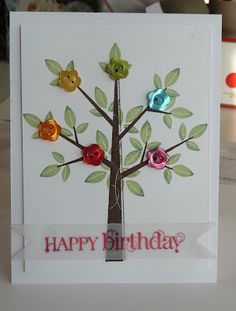 Season of Friendship tree with buttons for flowers.