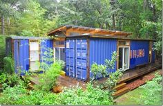 Building A Container Home, Container Cabin, Container Design, Cargo Container, Casas Containers, Storage Containers, Shipping Container Homes, Shipping Containers, Container Architecture