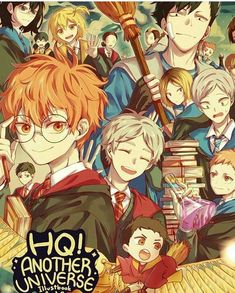 Lev is the first thing that caught my eye. Sorry Hinata.