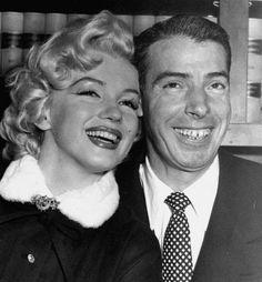 Marilyn Monroe ~ (1926 – 1962) ties the knot with  Joe DiMaggio ~ (1914 – 1999), January 14th 1954 .