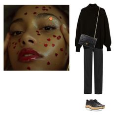 """NYFW✈️"" by lolaibzamorano ❤ liked on Polyvore featuring Chloé, Miu Miu, Chanel and vintage"