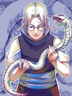 Pixiv Id 653200, NARUTO, Yakushi Kabuto, Snake