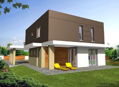 Ron_2 - www.opusdom.pl Shed, Houses, Outdoor Structures, How To Plan, Mansions, House Styles, Home Decor, Homes, Decoration Home