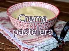Crema pastelera - YouTube