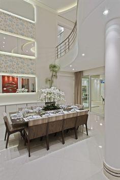 Casa Limeira : Salas de jantar modernas por Arquiteto Aquiles Nícolas Kílaris