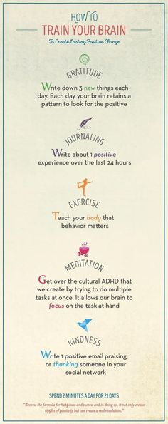 Train your brain to create lasting positive change. (scheduled via http://www.tailwindapp.com?utm_source=pinterest&utm_medium=twpin)