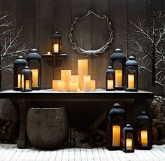 Amazing Christmas Lantern Ideas For Indoor Decoration 38