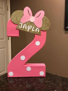 Minnie Mouse Custom Name Letters price is per number image 5 Minnie Mouse Birthday Theme, Minnie Mouse Birthday Decorations, Mouse Parties, 2nd Birthday Parties, Sofia Party, Soccer Party, Easter Printables, Princess Sofia, Pirate Party
