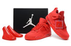 Specials-Online-Shopping-Air-Jordan-4-IV-Mens-Shoes-Special-For-Christmas-All-Red-5572_1.jpg (723×475)