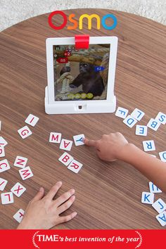The possibilities for learning are endless with Osmo, a groundbreaking system that fosters social intelligence and creative thinking by opening up an iPad. Play beyond the screen with Osmo's award winning games like Words, Masterpiece, Numbers, Newton and Tangram. Change the way your child plays with Osmo today!