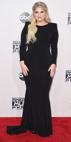 The Most Sizzling Looks at the 2015 American Music Awards - Meghan Trainor - from InStyle.com