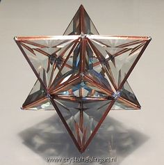 Large 3d Prisma Merkaba  Sacred geometry by CrystalHealingArt