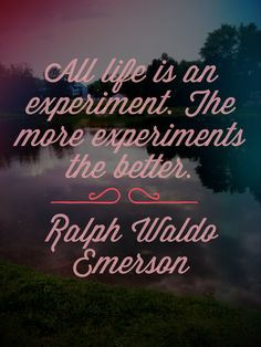 Ralph Waldo Emerson quote made by @Britt Kelsey on Instagram