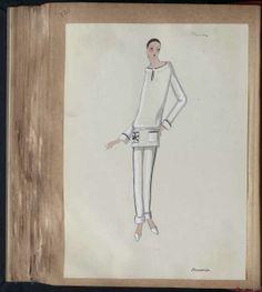 BOUDOIR Paris SPORT 1929 © Patrimoine Lanvin. #Lanvin125