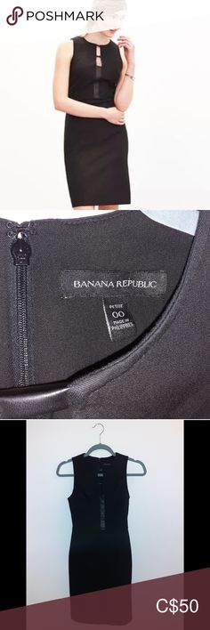 🆕️ NWOT Banana Republic Little Black Dress Banana Republic sexy and versatile little black dress with faux-leather accents.  Perfectly tailored fit that feels like a second skin.  Size: 00 petite  🛍 NWOT. Never worn. Perfect condition. 🛍 Banana Republic Dresses Sexy Little Black Dresses, Plus Fashion, Fashion Tips, Fashion Design, Fashion Trends, Banana Republic Dress, Second Skin, Size 00, Feels