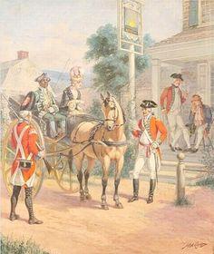 """British Checkpoint 1775"", by Henry Alexander Ogden (1856-1936) #RevolutionaryWar"
