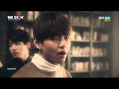 151208 The Show 방탄소년단(BTS) - Butterfly by플로라 - YouTube