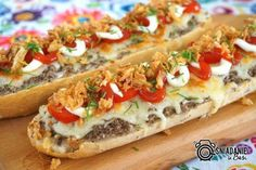 Cheesesteak, Street Food, Vegetable Pizza, Baked Potato, Sandwiches, Food And Drink, Veggies, Appetizers, Healthy Recipes