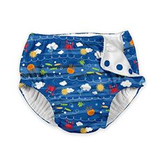 i play. Baby Boys' Snap Reusable Absorbent Swimsuit Diaper, Royal Blue Sea Friends, 24 Months. For product info go to: https://all4babies.co.business/i-play-baby-boys-snap-reusable-absorbent-swimsuit-diaper-royal-blue-sea-friends-24-months/