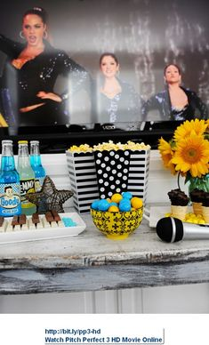 Entertaining: Fun Ideas for Hosting a Pitch Perfect 2 Movie Night and Karaoke Party - Entertain | Fun DIY Party Craft Ideas