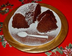 Ciambella+al+cioccolato+profumata+all'arancia