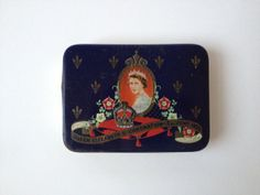 Vintage 1953 Queen Elizabeth II Coronation Tin Box/ by Tukvintage, £12.00