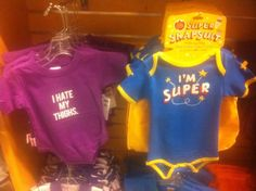 Gendered onesies (thanks @NFQblog, @Halfrican_One, @ztsamudzi, and @loveorchid77).