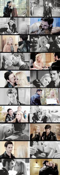 Emma and Hook, since they're together...
