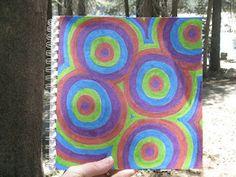 Cindy deRosier: My Creative Life: 5 Dot Art