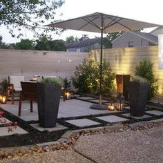 contemporary patio by Kirkpatrick Design on Houzz.com