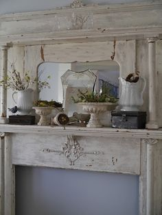 pretty mantle display