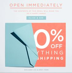 OPEN IMMEDIATELY  THE CONTENTS OF THIS EMAIL WILL MAKE YOU DO A HAPPY DANCE.  CLICK & SEE  EXCLUDES LOU & GREY ITEMS