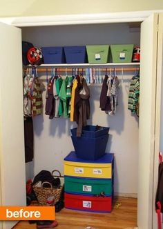 Before & After: Anna's DIY Custom Closet — Take the Side Street