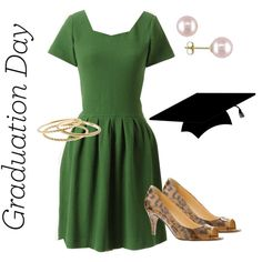 """""""Graduation Day Outfit"""" by oregonmiss on Polyvore"""