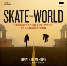 National Geographic está publicando um livro sobre skate. - Clube do skate.