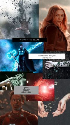 marvel and earth aesthetic